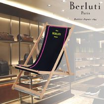 【BERLUTI】Embroidered Chaise Longue