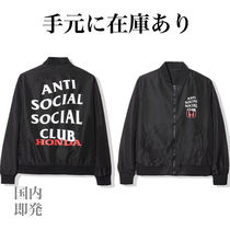 【国内即発】Anti Social Social Club×Honda Bomber Jacket