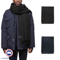 【CANADA GOOSE】SOLID WOVEN SCARF★ソリッドウーヴェン