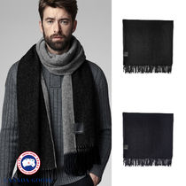 【CANADA GOOSE】TWO COLOUR WOVEN SCARF ★2カラーウーヴェン