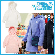 THE NORTH FACE_ 温かい! K'S LONG FLEECE HOODIE_NM5PK53