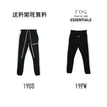 新作 国内速発FOG Fear Of God Essentials Side Stripパンツ