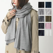 JOHN SMEDLEY マフラー WINGS UNISEX WIDE SHAWL ストール