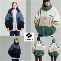 韓国の人気!★XTONZ★XJ10 Crinkle Jacket 2 Color 男女共用 ★