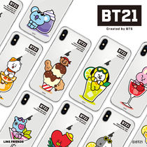 iPhone11/11 Pro/11 Pro Max BT21 CLEAR SOFT SUMMER DOLCE TPU