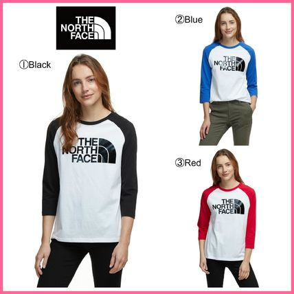 THE NORTH FACE Tシャツ・カットソー 19-20AW!! ☆THE NORTH FACE☆ Half Dome Baseball T-Shirt