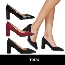 eclat掲載 TOD'S PUMPS 足元が主役 トッズ パンプス