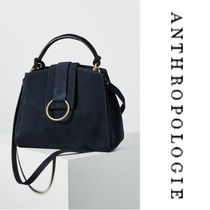 【Anthropologie】Samara Mini Tote Bag n ネイビー 2WAYバッグ