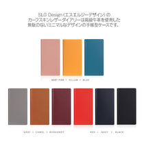 iPhone11 手帳型ケース SLG Design Calf Skin Leather Diary