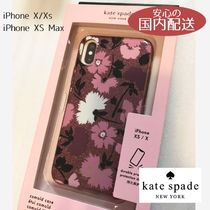 kate spade☆gala floral iphone 花柄 X/XS/XS Max/XR☆税送込