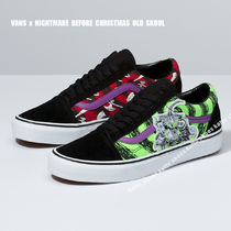 VANS x NIGHTMARE BEFORE CHRISTMAS OLD SKOOL★コラボ★兼用