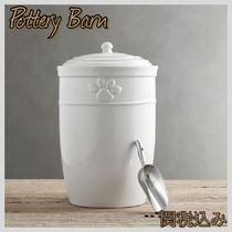 Pottery Barn ポッタリーバーン☆CAMBRIA PET FOOD CANISTER