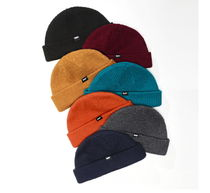 TWN(ティーダブリュエヌ) ニットキャップ・ビーニー TWN★SIGNATURE SHORT BEANIE STAC3222 (7COLOR)