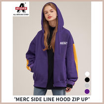 ◆ACOVER◆ 19FW MERC SIDE LINE HOOD ZIP UP(4色) ユニセックス