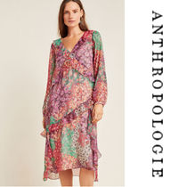 【Anthropologie】Sirena Ruffled Tunic a チュニックワンピース