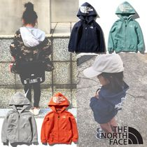 【THE NORTH FACE】国内発☆リアビューフルジップフーディ キッズ