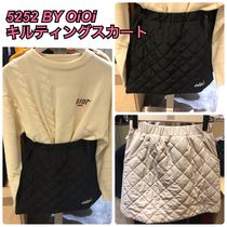 2019FW★新作【5252 by OiOi】QUILTING MINI SKIRT 全3色
