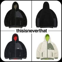 [ Thisisneverthat ]★韓国大人気★ HOODED BOA FLEECE JACKET