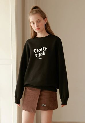 Tシャツ・カットソー [CLOTTY] CLOTTY CLUB SWEAT-SHIRT BLACK(CY1JFFM472A)(2)