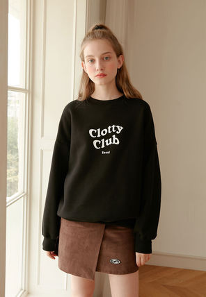 Tシャツ・カットソー [CLOTTY] CLOTTY CLUB SWEAT-SHIRT BLACK(CY1JFFM472A)(3)