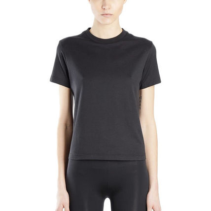 Y-3 Tシャツ・カットソー 国内発[Y-3] Tシャツ Stacked スタックド クルーネック ロゴ(4)
