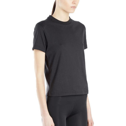 Y-3 Tシャツ・カットソー 国内発[Y-3] Tシャツ Stacked スタックド クルーネック ロゴ(5)