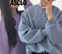 ASCLO  MOSCO SEWING SWEATSHIRTS UNISEX  5色 s745