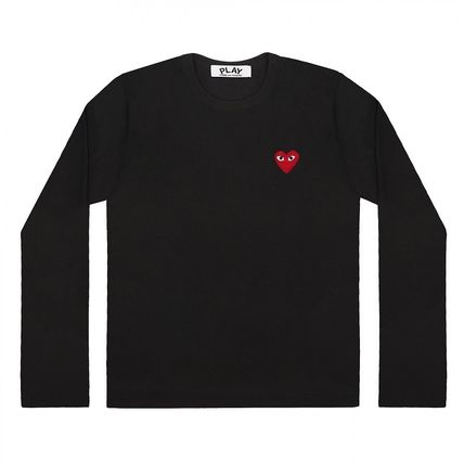 COMME des GARCONS Tシャツ・カットソー 【即発】COMME des GARCONS PLAYハートロゴ ロンT☆メンズ(4)