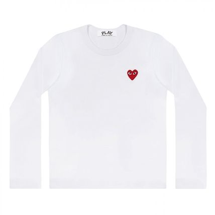 COMME des GARCONS Tシャツ・カットソー 【即発】COMME des GARCONS PLAYハートロゴ ロンT☆メンズ(3)