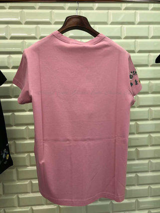GIVENCHY Tシャツ・カットソー 【19AW NEW】GIVENCHY_women/フローラルロゴスリムTシャツ/PK(2)