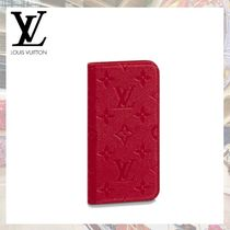 2019AW 【Louis Vuitton】 IPHONE X&XSケース モノグラム・E 赤