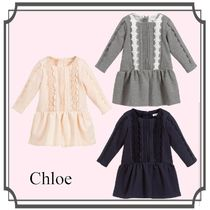 Chloe☆Cotton Milano ジャージードレス 6M-3Y