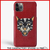 関税送料込☆THE CASEFACTORY☆IPHONE 11 PRO SWAROVSKI TIGER