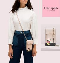 Kate Spade x minnie mouse north south flap phone crossbody