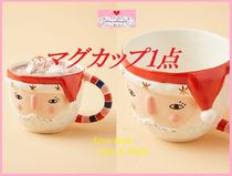最安値保証*関送込【Anthro】Bird Can Fox Pixie Santa Mug 1点