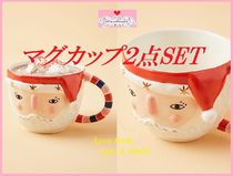 最安値*関送込【Anthro】Bird Can Fox Pixie Santa Mug 2点SET