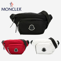 【MONCLER】モンクレール☆FELICIE LARGEロゴ付きファニーパック