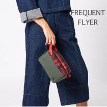 FREQUENT FLYER/Jungle/Army Green/Scottish Tartan Red/ポーチ