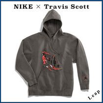 "【Nike×Travis Scott】激レア Washed Suede Hoodie ""Iron Grey"""