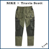 """【Nike×Travis Scott】激レア Embroidered Cargo Pants """"Olive"""""""