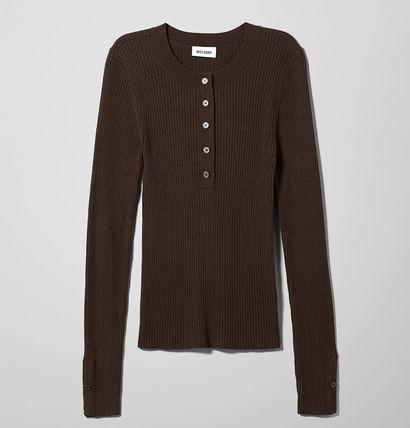 """WEEKDAY"" Netty Sweater Brown"