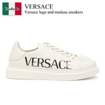 Versace logo and medusa sneakers