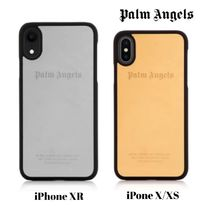 UK発!【PALM ANGELS】メタリック iPhone XR/X/XS Case ロゴ入☆