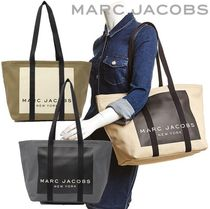 MARC JACOBS(マークジェイコブス) トートバッグ SALE! MARC JACOBS ロゴ キャンバス トート M0015375 A4対応♪