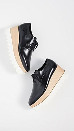 Stella McCartney シューズ・サンダルその他 SALE!限定☆Stella McCartney Elyse Lace Up Shoes(4)