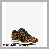 Michael kors☆ヒョウ柄 Billie Animal-Print Calf Hair☆税送込