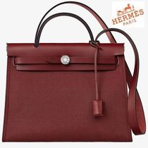 NEW HERMES◆希少品 HERBAG ZIP 31 Rouge H◆