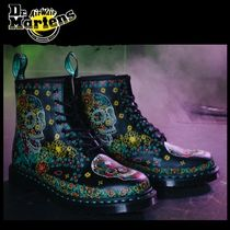 UK発☆Dr Martens☆1460 スカル DAY OF THE DEAD 8ホール ブーツ