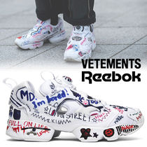 入手困難コラボ!Vetements x Reebok InstaPump Fury 'Graffiti'
