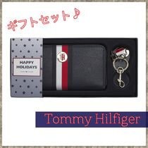 【Tommy Hilfiger】ロングウォレット キーリング ギフトセット